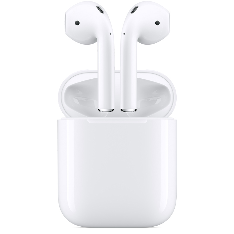 airpods with charging case: free