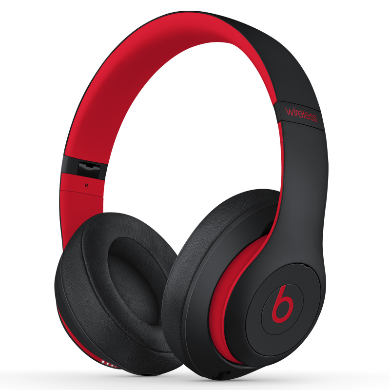 beats studio3 - black/red