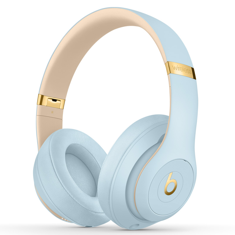 beats studio3 - crystal blue