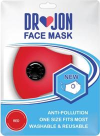 Assorted Valved Face Mask w/ Pocket