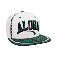 Zephyr Toloa Aloha Tribal Snapback Hat