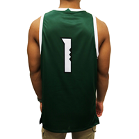 Under Armour #1 Basketball Jersey
