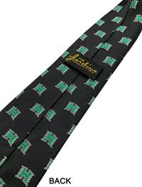H Logo Silk Tie