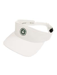 Heat Pressed Seal Logo Adjustable Visor