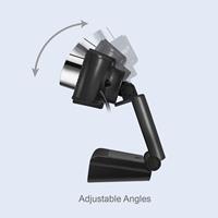 Adesso 1080P HD USB Webcam w/ Built-in Microphone 2.1 MP