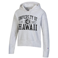 Women's Champion Reverse Weave Crop Hooded Sweatshirt