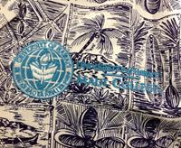 Aloha Shirt - Maui College with Seal Embroidery