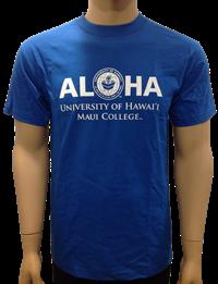T-Shirt Aloha Maui College
