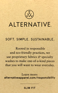 Maui College Heathered shirt - Alternative Apparel