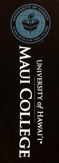 T-Shirt Maui College Vertical