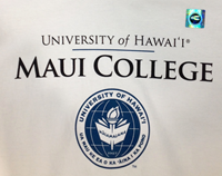 T-Shirt Maui College with Seal