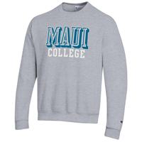 Champion Crew Sweatshirt Maui College