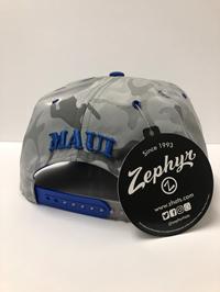 Maui College Zephyr Snapback Hat